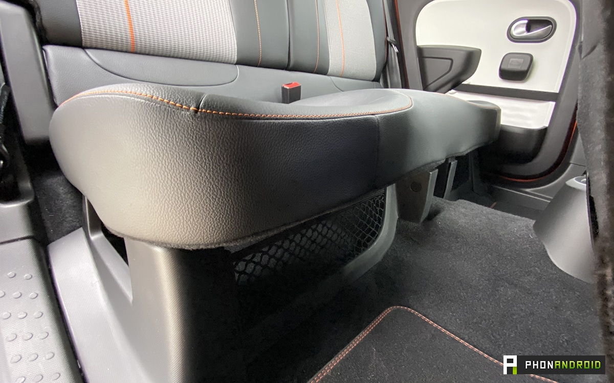 Renault Twingo Electric seats