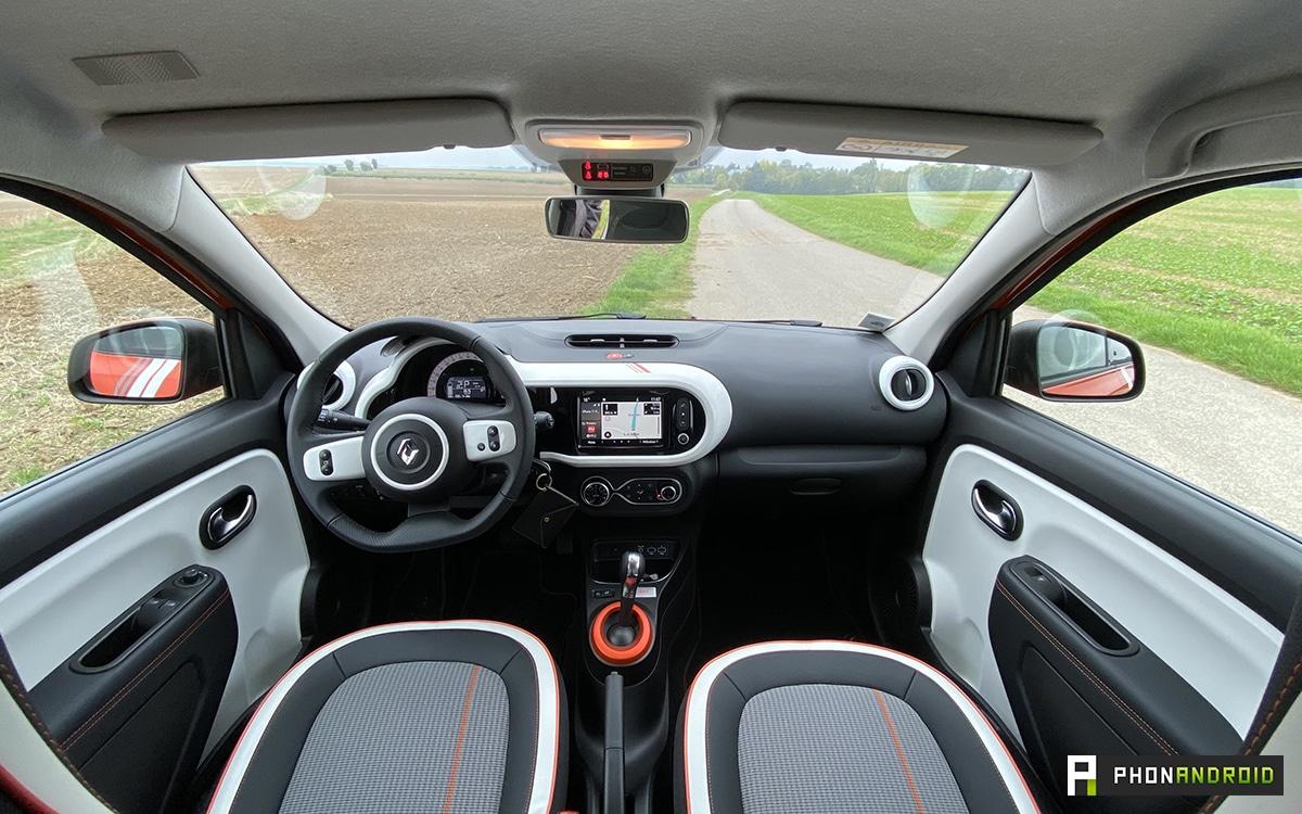 Renault Twingo Electric habitacle