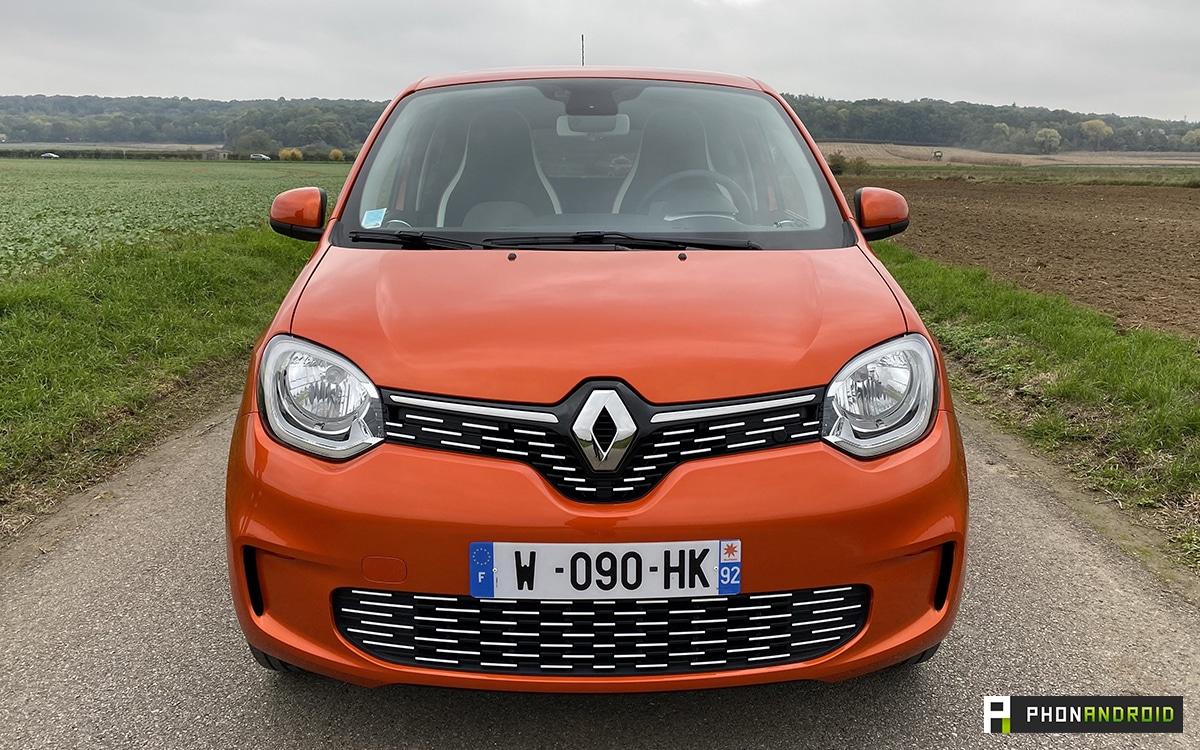 Renault Twingo Electric vue avant