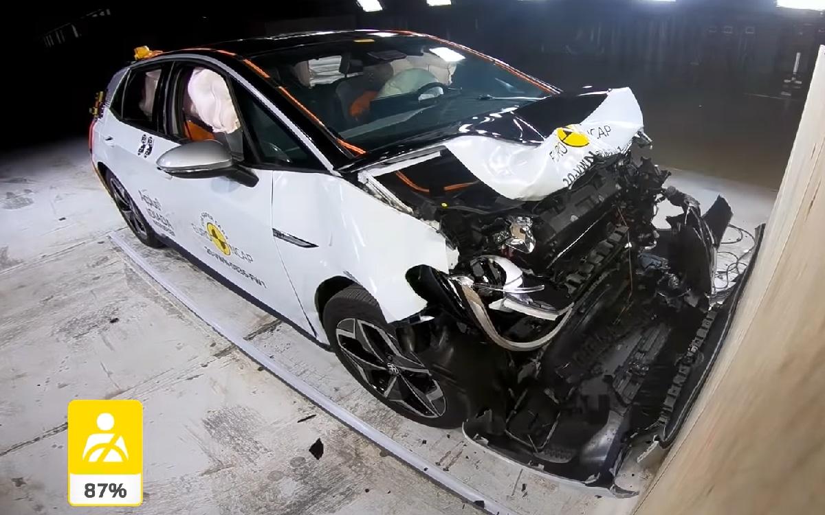 Volkswagen ID.3 crash test