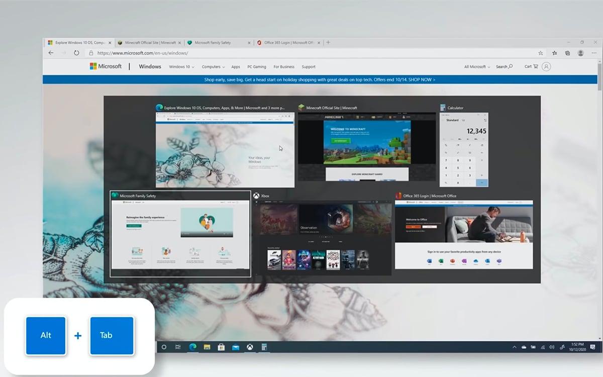 windows 10 alt tab edge