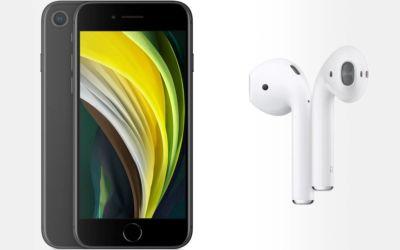 offre bundle iPhone SE AirPods 2 à la Fnac