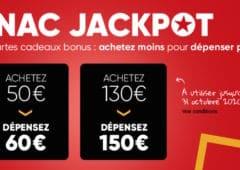 cartes cadeaux jackpot fnac darty