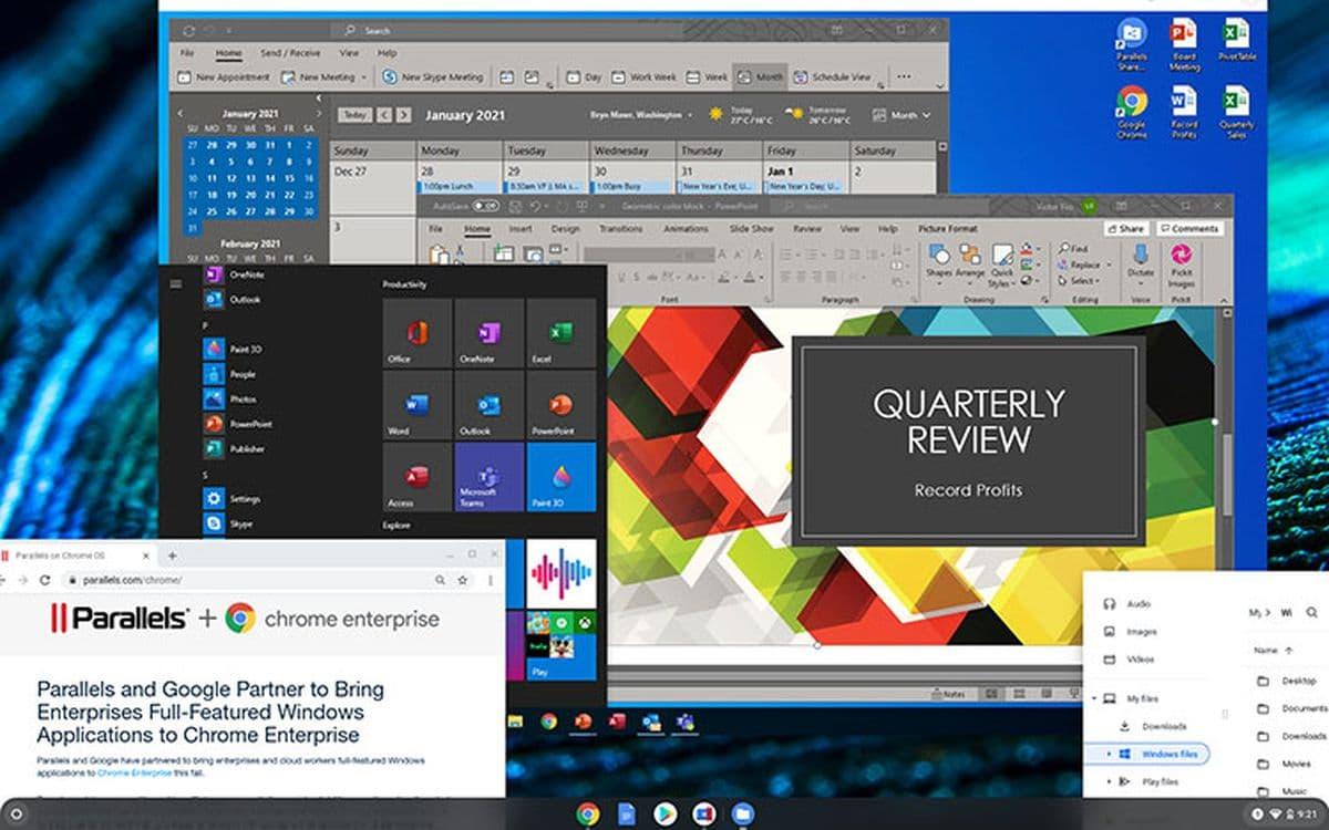 Chrome Windows