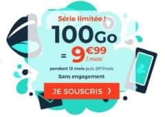 forfait cdiscount mobile 100 go octobre 2020