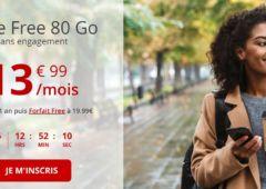 forfait free mobile 80 Go