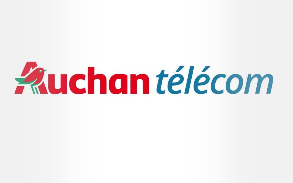 forfait mobile Auchan Télécom 100 Go pas cher