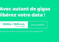 forfait mobile red by sfr 100 go en promo
