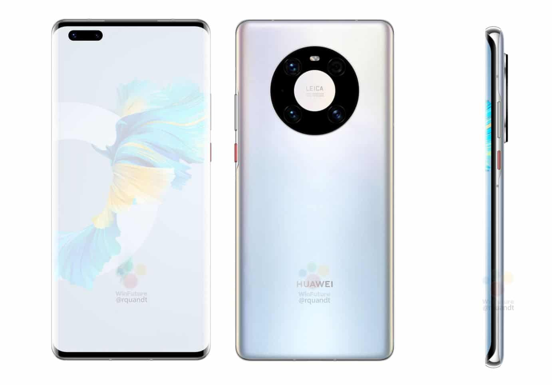 fr - Huawei Mate 40 Pro: borderless screen, Kirin 9000, 50 MP photo sensor, all the information leaked