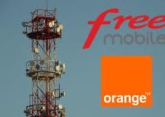 free orange itinérance réseaux