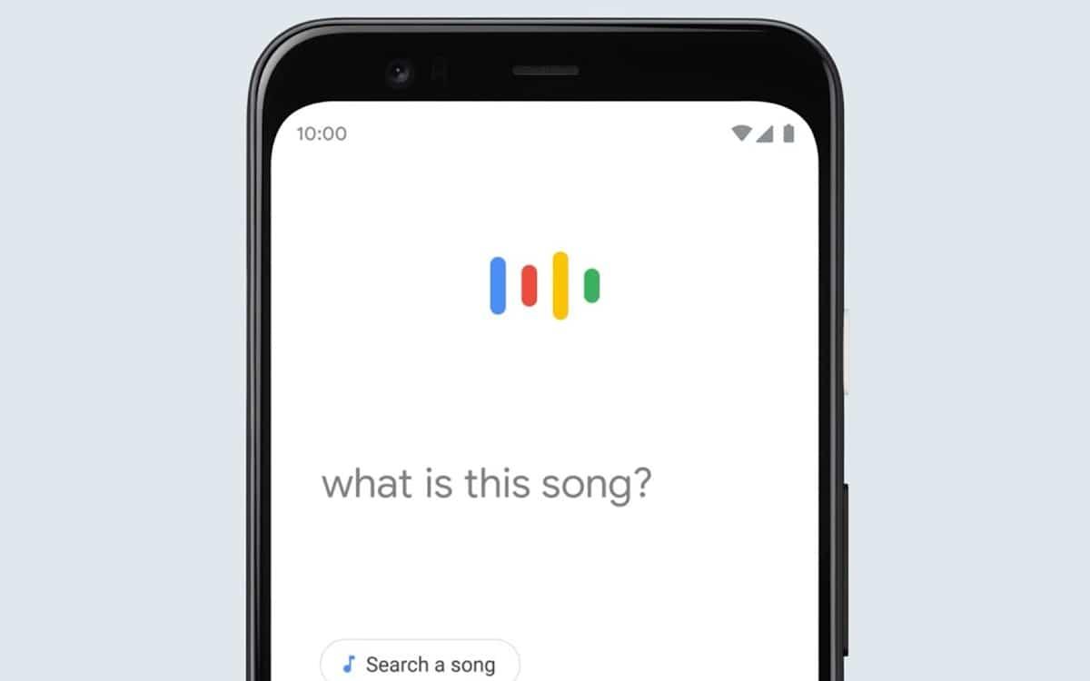 google reconnaît chanson fredonnez