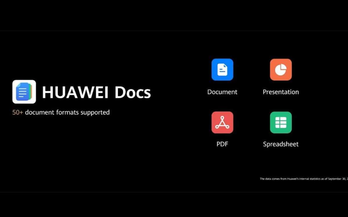 huawei docs alternative google microsoft office