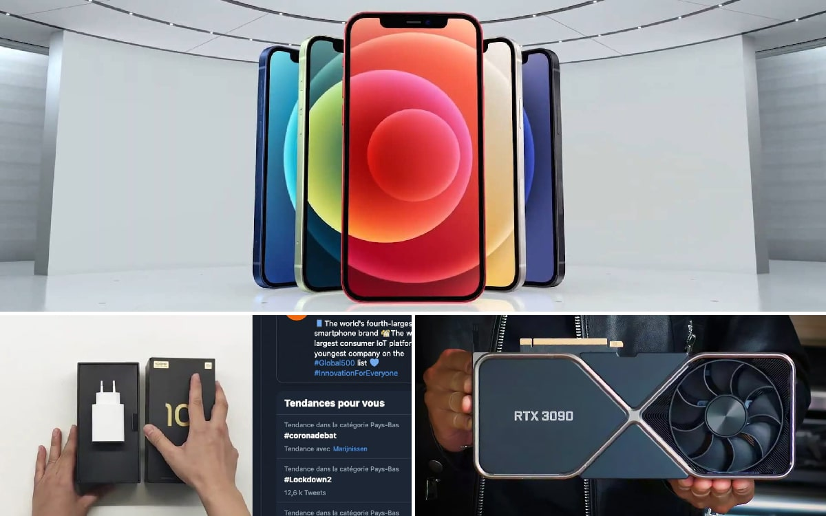 iphone 12 RTX 3090 - IPhone 12 launched, Xiaomi misses comm, RTX 3090 can hack anything, weekly recap - PhonAndroid