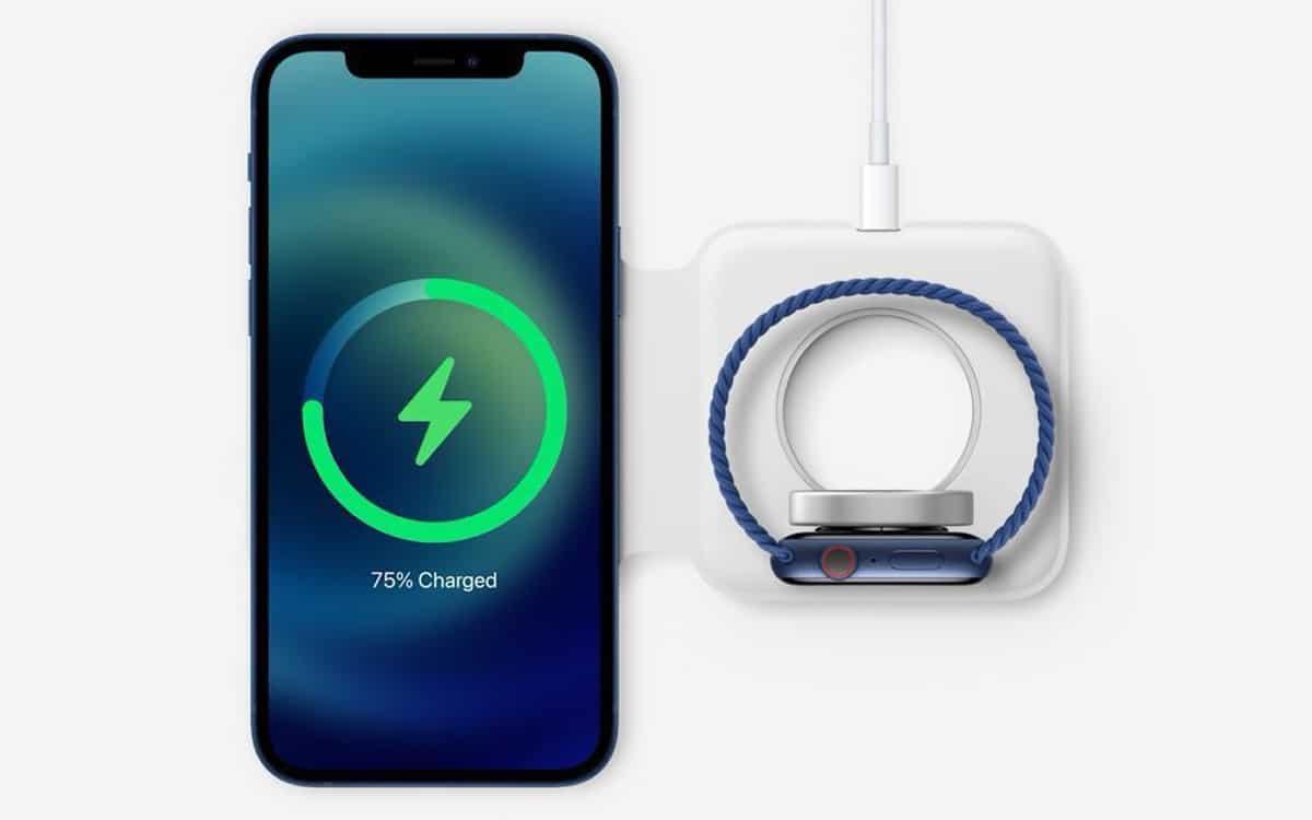 iiphone 12 magsafe recharge sans fil 2fois plus rapide