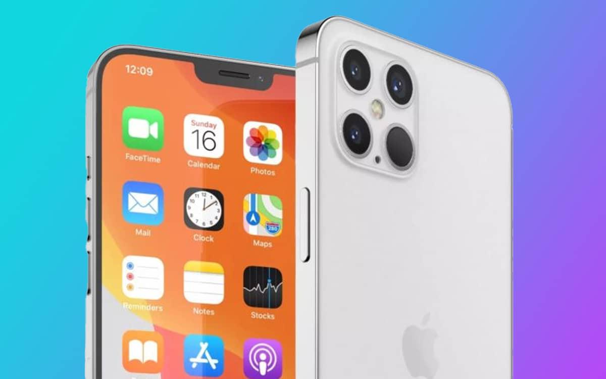 iphone 13 apple réduire taille encoche 2021