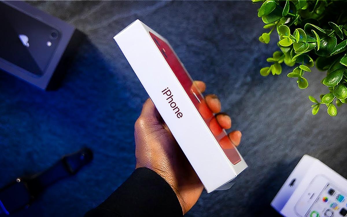 iPhone 12 nouvelle boiite sans chargeur 2020