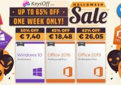 offre Keysoff Halloween