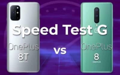 oneplus 8 8t speed test