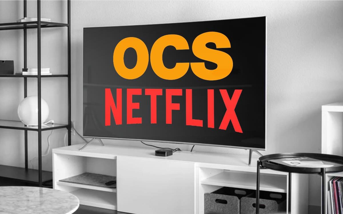 Pack Orange OCS Netflix