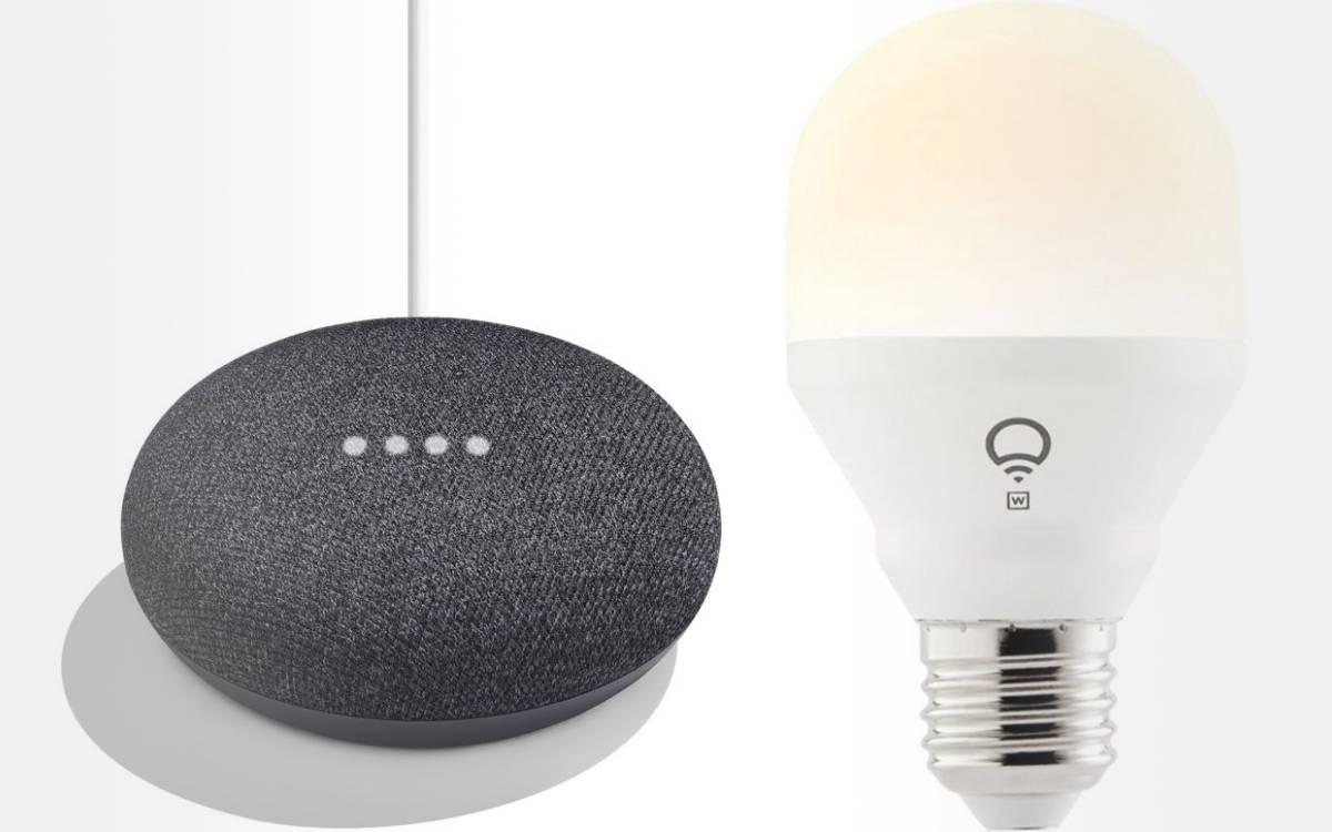 pack google home mini avec ampoule lifx pas cher