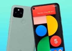 pixel 5 google caché haut parleur sous écran