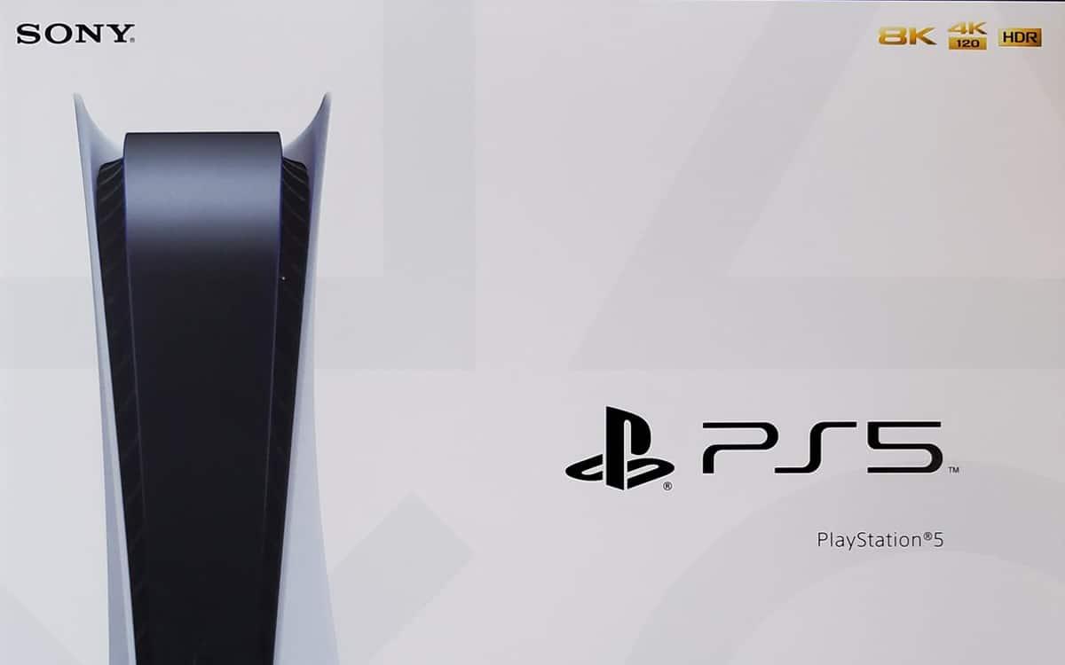 PS5 boite