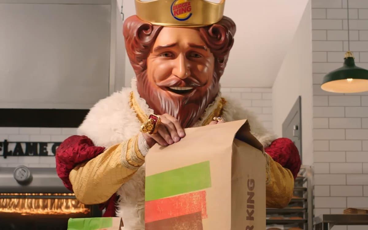 ps5 burger king son démarrage