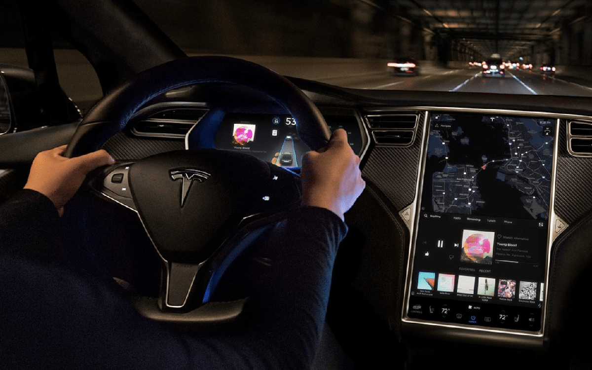 Tesla MCU Model X et S