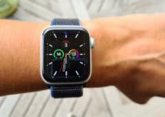 test apple watch series 6 cadran