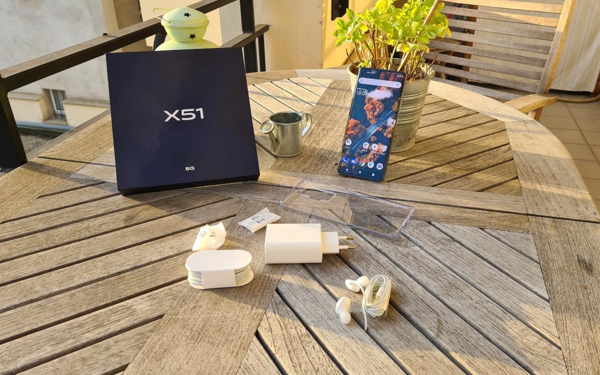 test vivo x51 accessoires