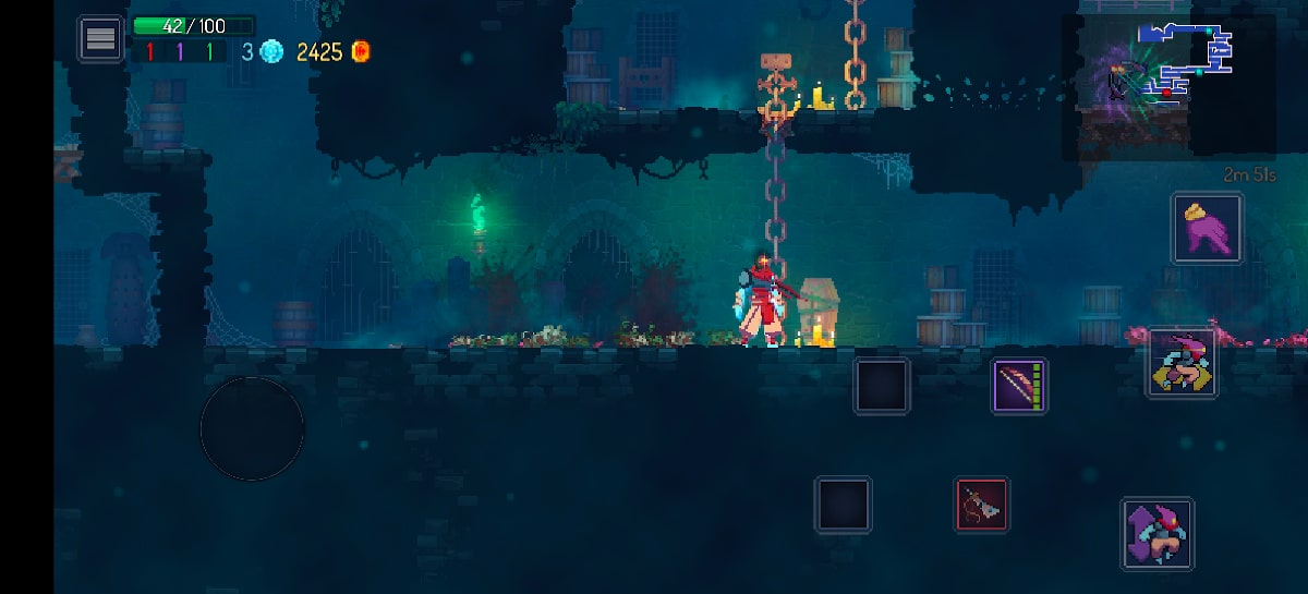 test vivo x51 game dead cells
