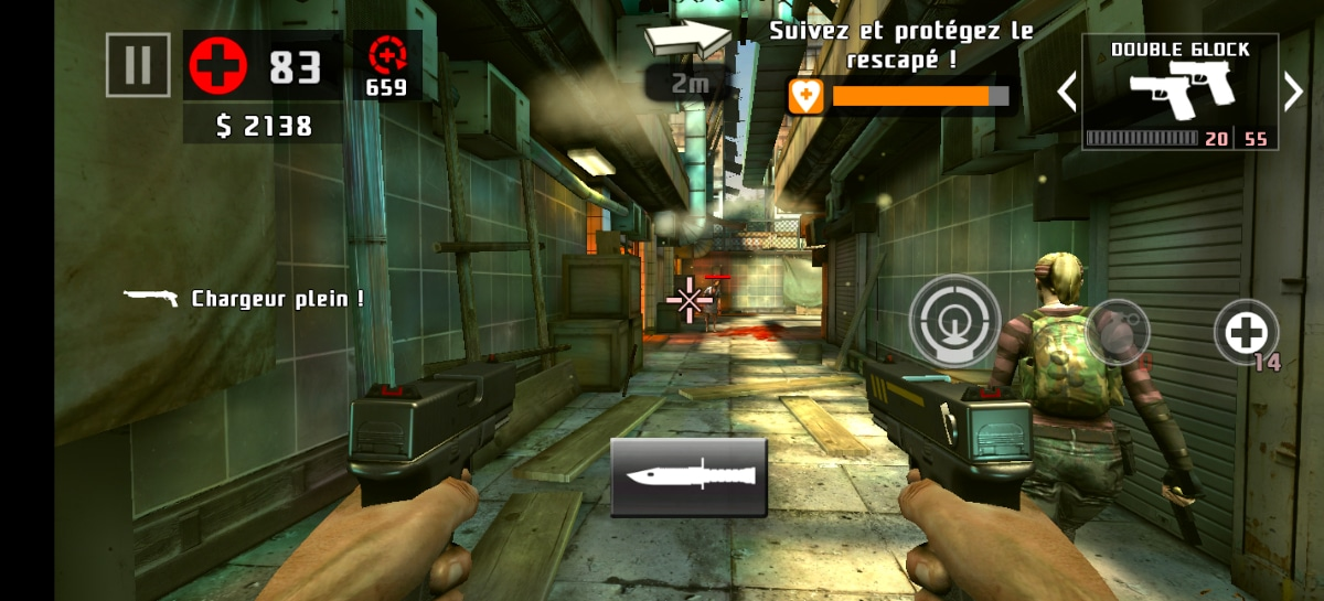 test vivo x51 game dead trigger 2