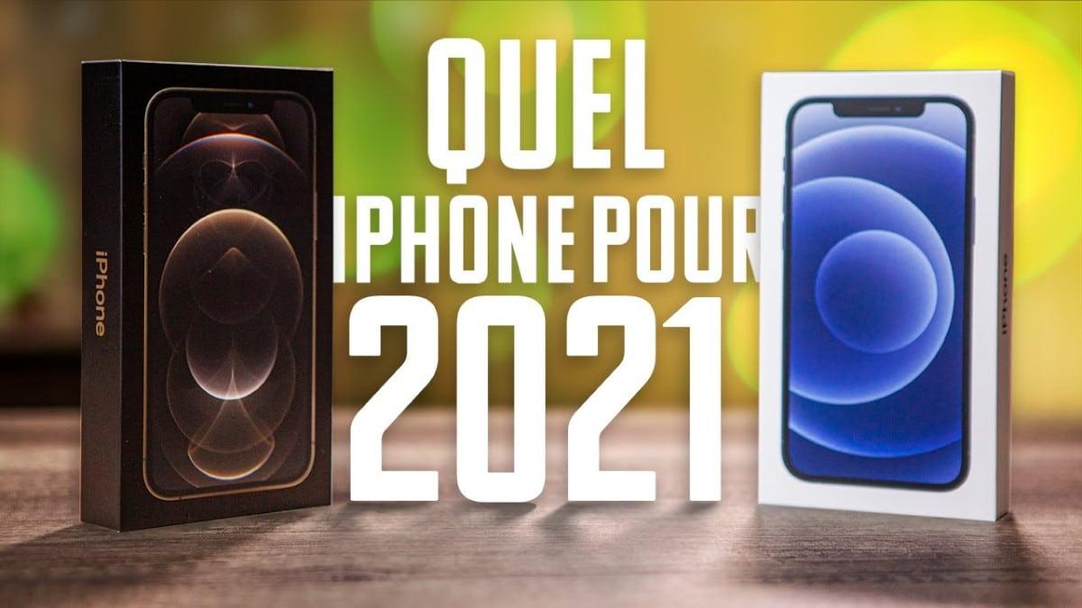 video comparative quel iphone en 2020