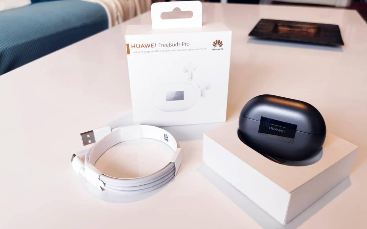 Huawei Freebuds Pro photo box