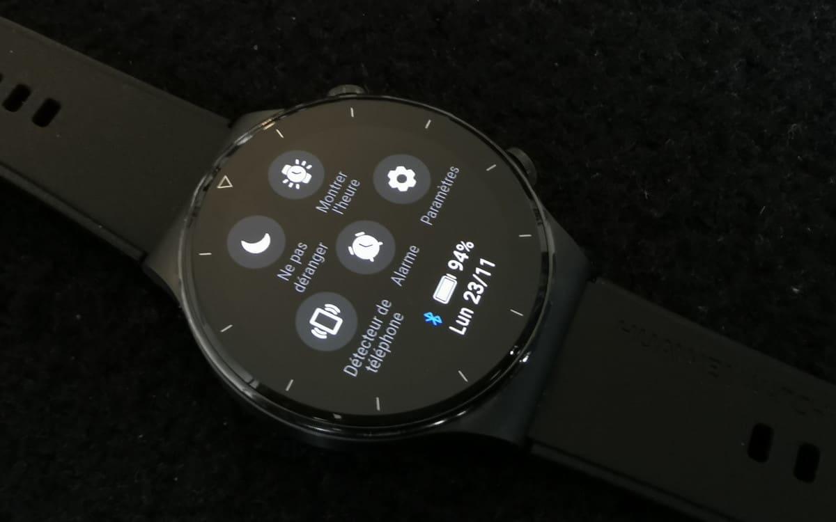 Huawei Watch GT 2 Pro paramètres