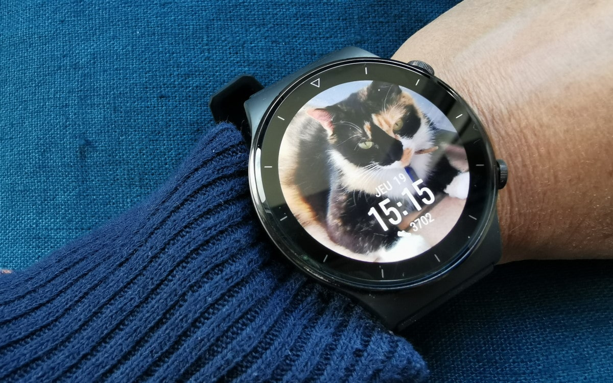 Huaweit Watch GT 2 Pro cadran chat