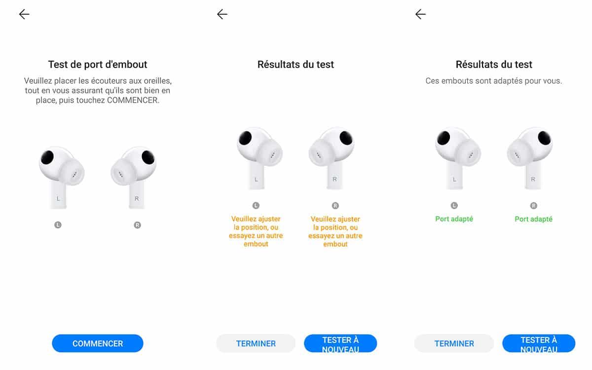 Huawei Freebuds Pro capture tips