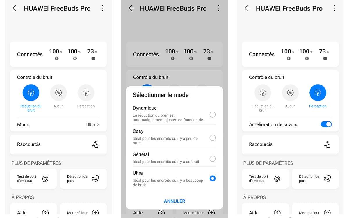 Huawei Freebuds Pro anc capture