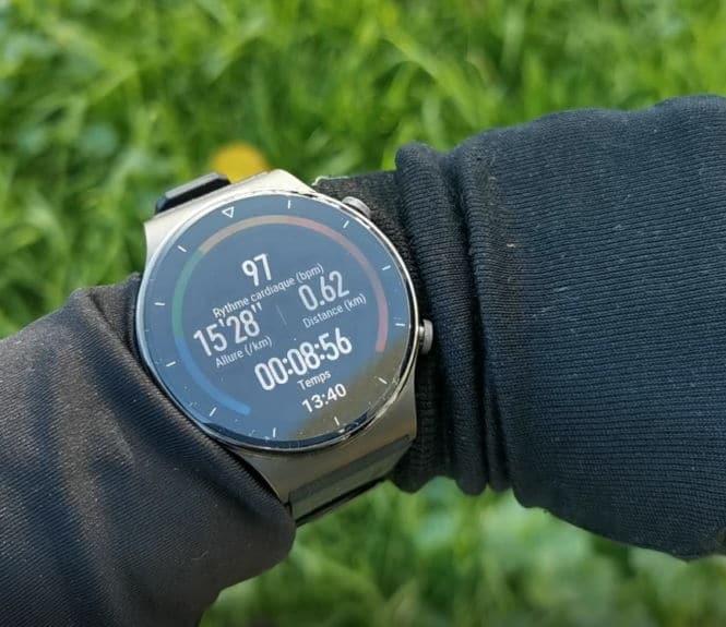 Huawei Watch GT 2 Pro course