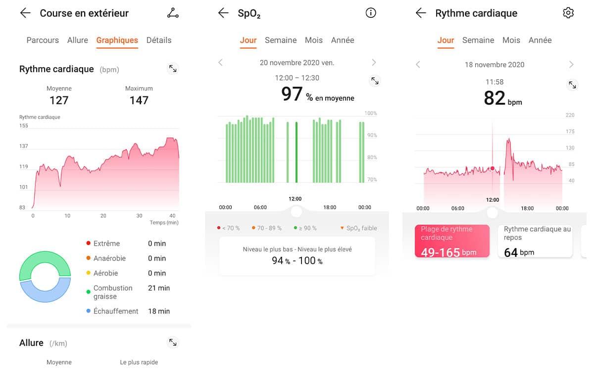 Huawei Watch GT 2 Pro suivi sportif