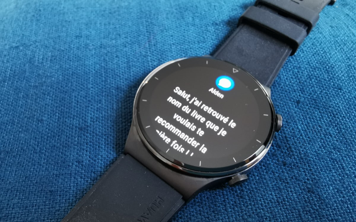 Huawei Watch GT 2 Pro SMS
