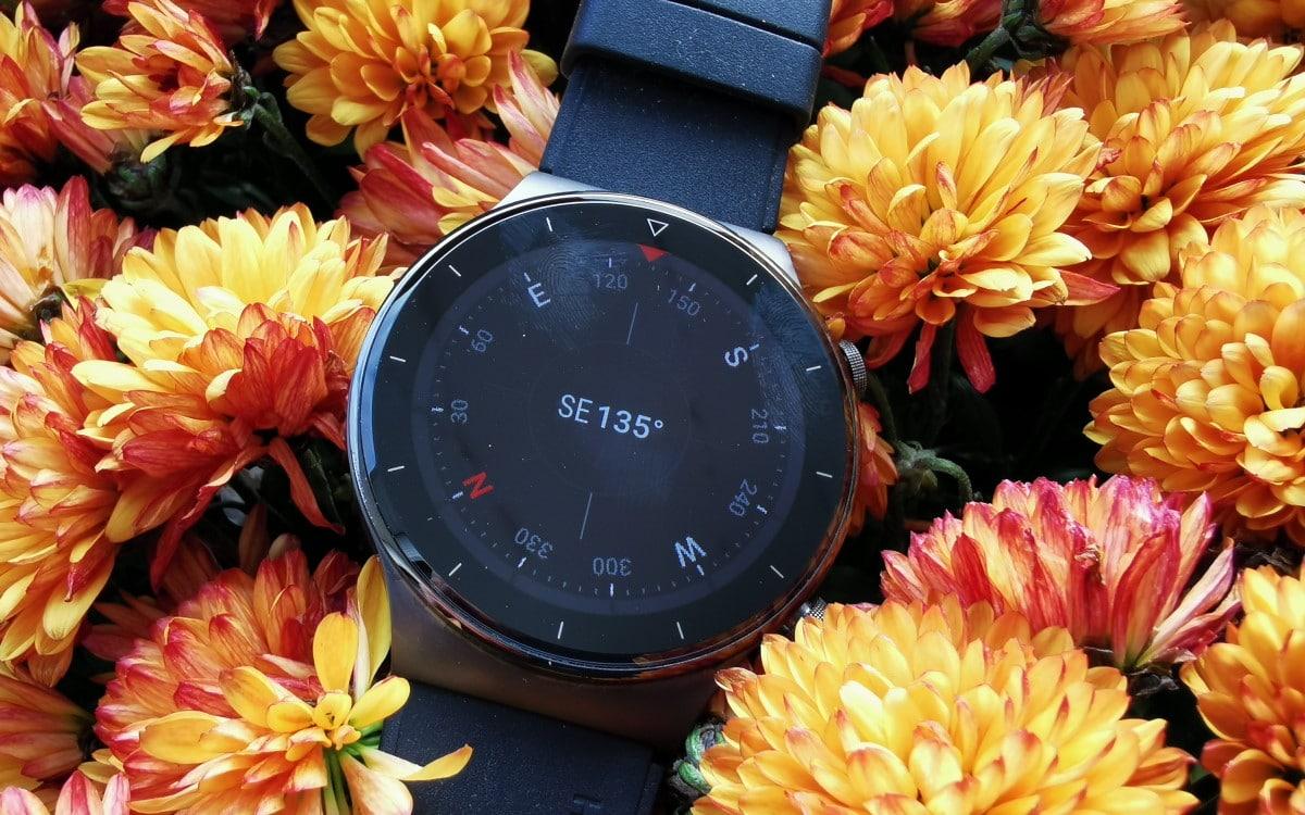 Huawei Watch GT 2 Pro boussole