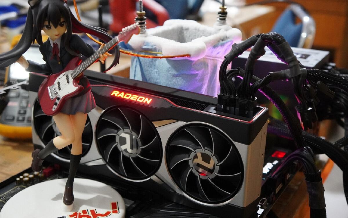 AMD Radeon RX 6800 XT overclock
