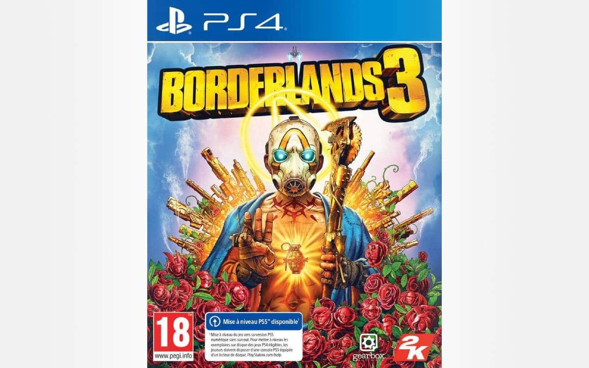 Borderlands 3 on PS4 cheap