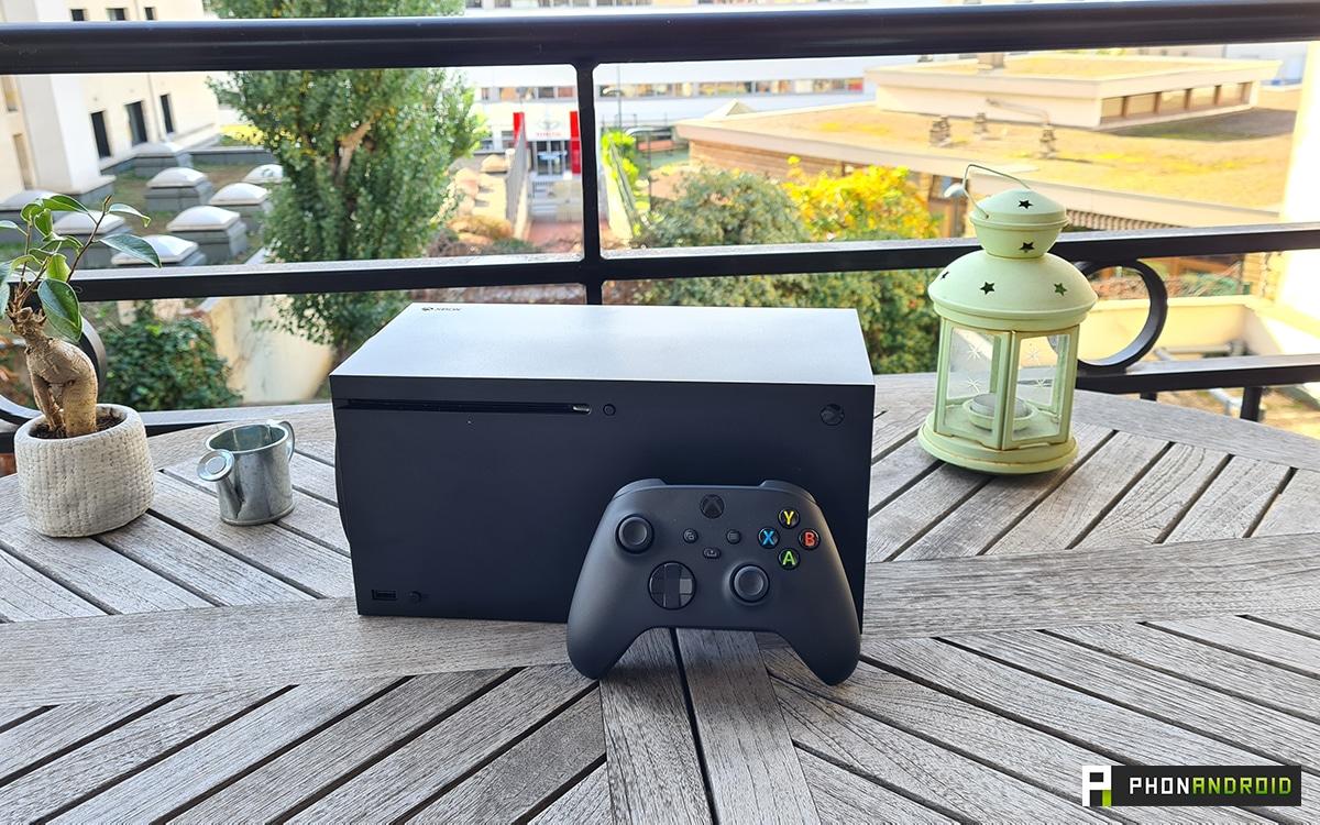 Xbox Series X vue d'ensemble