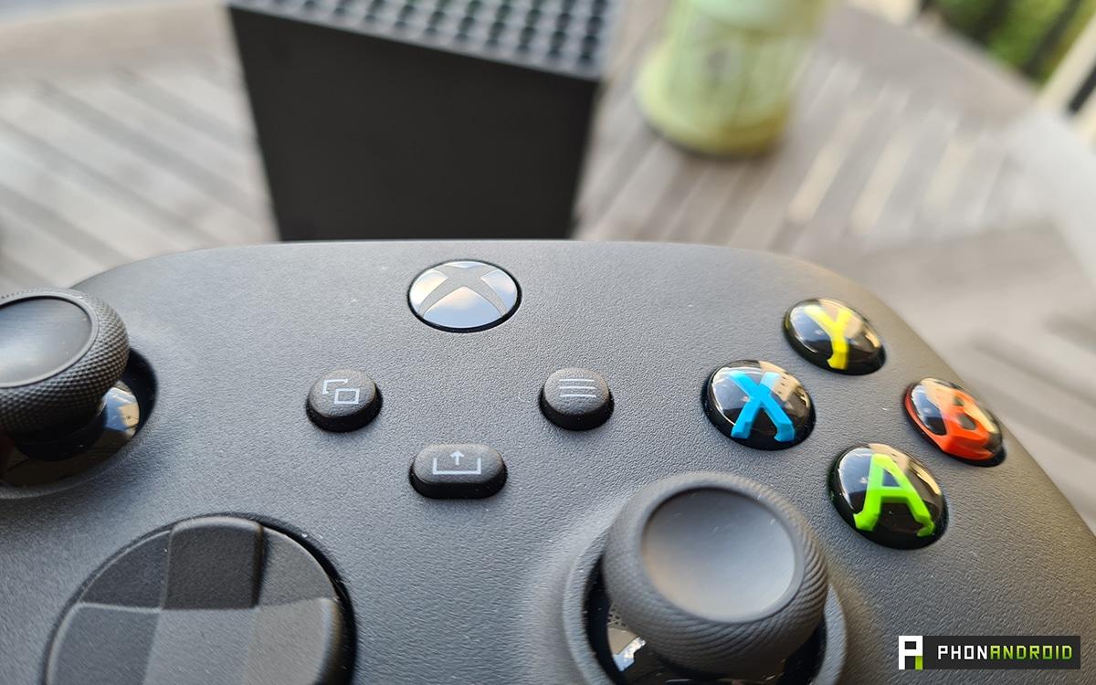 The new Xbox Series X controller button