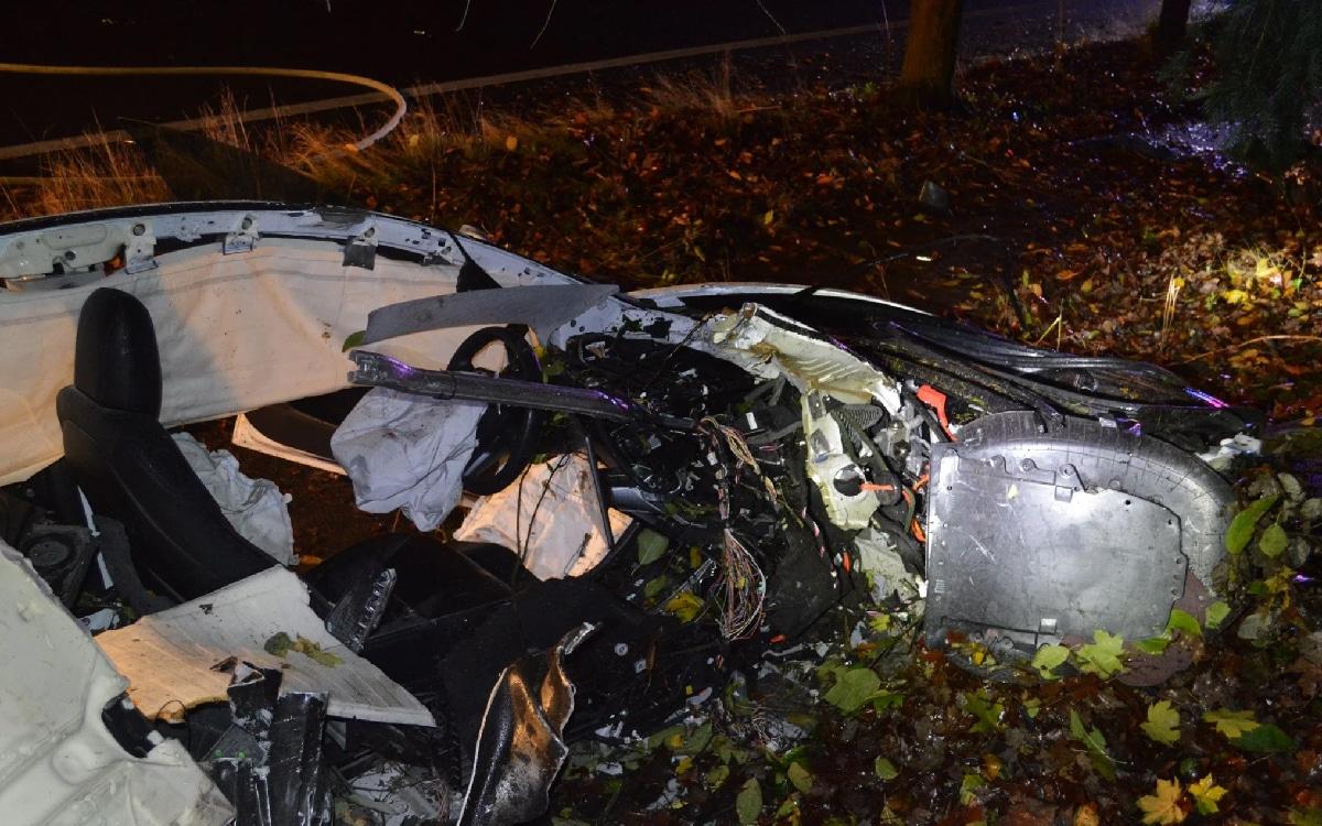 Accident Tesla Model 3
