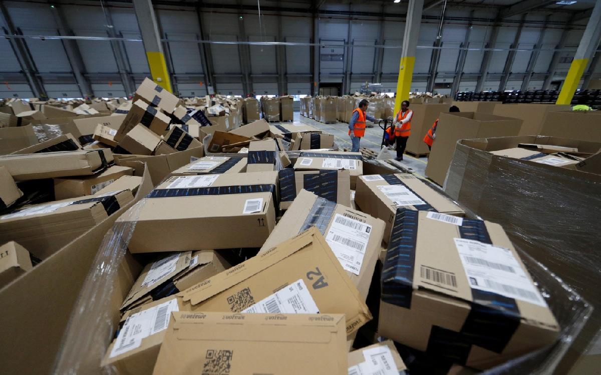 Colis Amazon entrepot