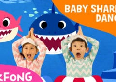 baby shark vidéo plus vue youtube