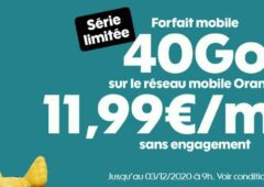 forfait mobile Sosh 40 Go